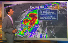 Latest on Tropical Storm Nate