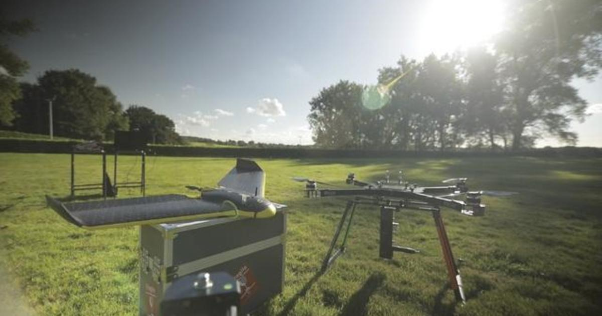 Re-planting the Earth with drones