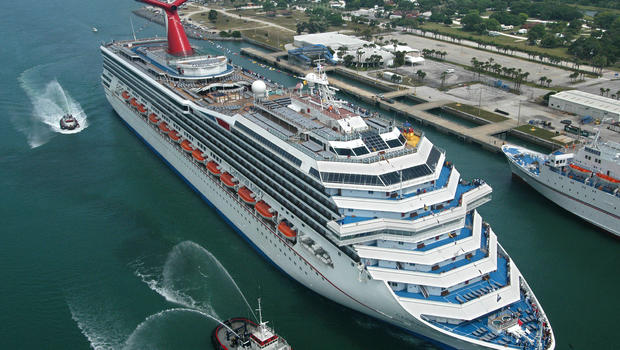 Child falls to death from Carnival cruise ship