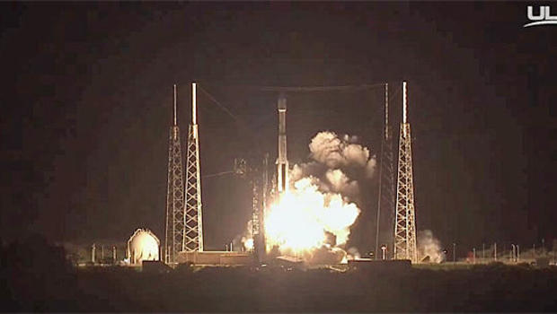 ULA's Atlas V Rocket Carries NRO Natl Security Payload to Orbit