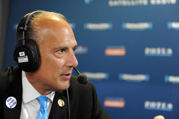 Rep. Tom Marino, R-Pennsylvania, talks with Andrew Wilkow during an episode of The Wilkow Majority on SiriusXM Patriot at Quicken Loans Arena on July 21, 2016, in Cleveland, Ohio.