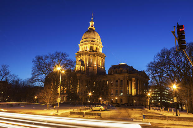 Springfield, Illinois - State Capitol Building