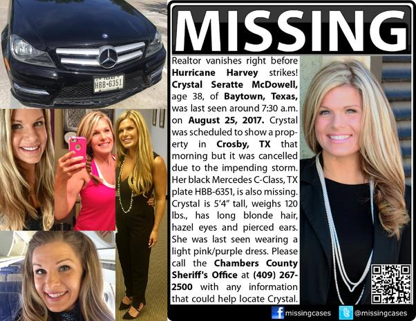Photo timeline: The search for Crystal McDowell