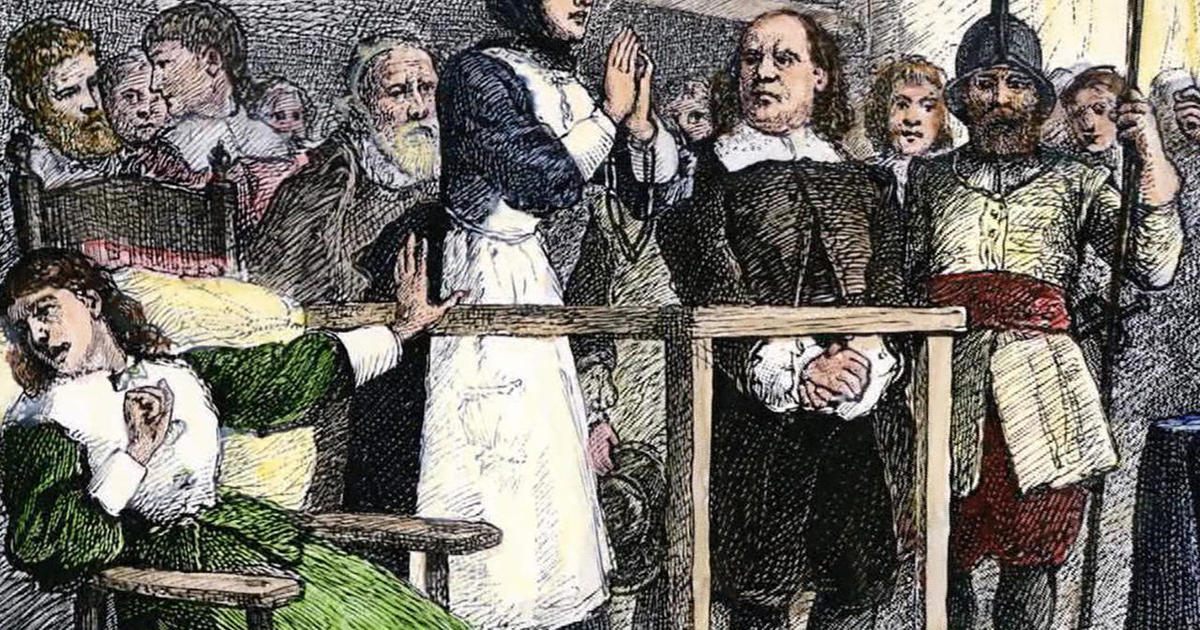 an explanation of the hysteria of the salem witch trials Causes for the outbreak of witchcraft hysteria in salem 1 strong belief that satan is acting in the world salem trials homepage.