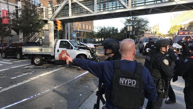 ISIS claims responsibility for New York City terror attack
