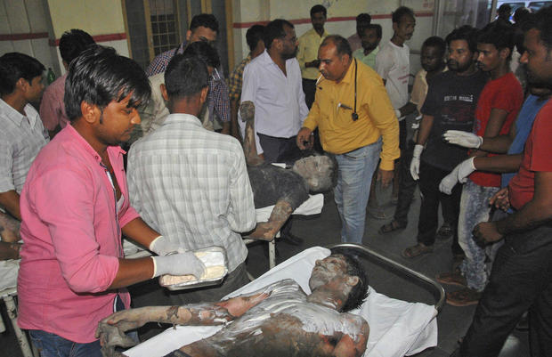 India Power Plant Explosion