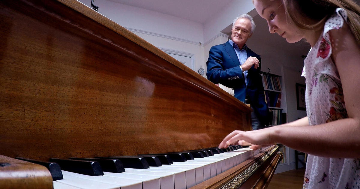 Alma Deutscher: Watch a prodigy create - from four notes in a hat and her piano