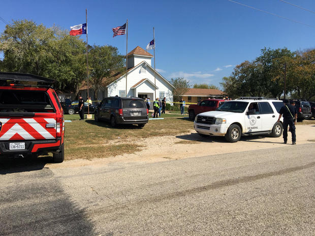 Deadly church shooting in Texas