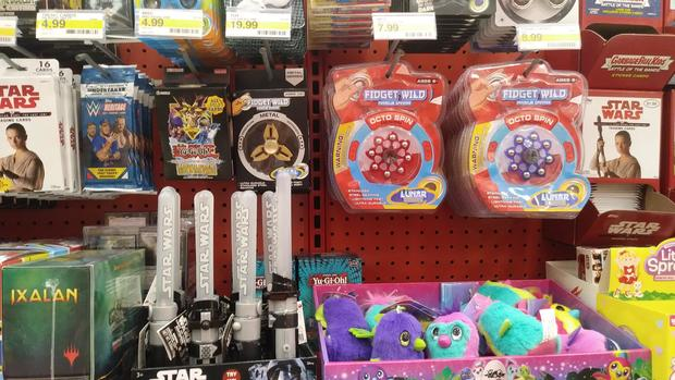 Consumer group says Target selling fidget spinners tainted with lead