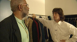 This week in '94: backstage with Mick Jagger