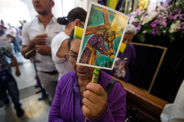 VENEZUELA-RELIGION-HOLY WEEK