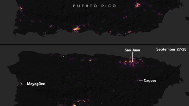 Major blackout hits puerto ricos most populated region cbs news gumiabroncs Image collections