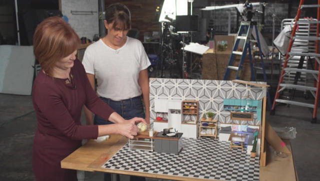Creating The Bite Sized Foods Of Tiny Kitchen Cbs News
