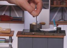 creating the bite sized foods of tiny kitchen cbs news - Tiny Kitchen
