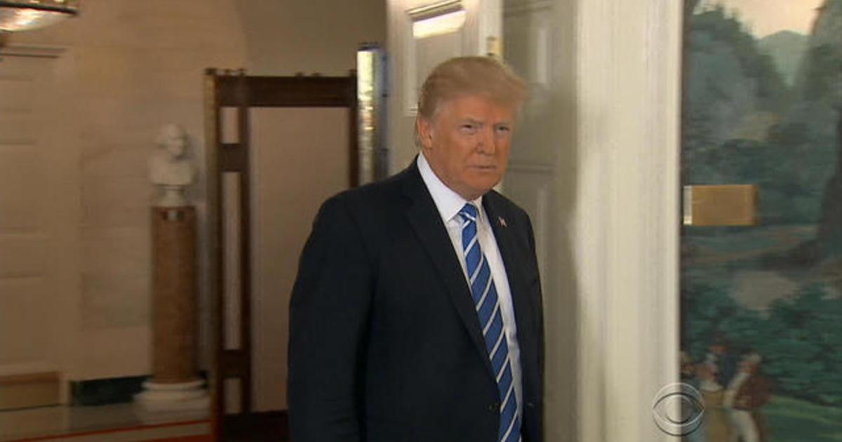 President Trump quiet on Roy Moore