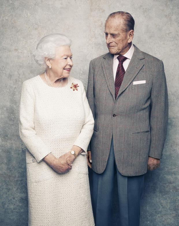 HM The Queen and The Duke of Edinburgh