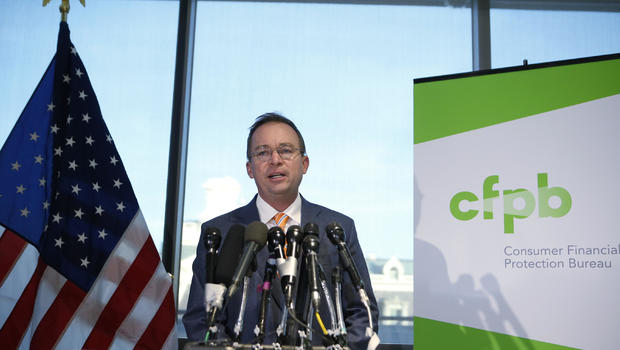 Mick Mulvaney addresses Consumer Bureau dispute - CBS News