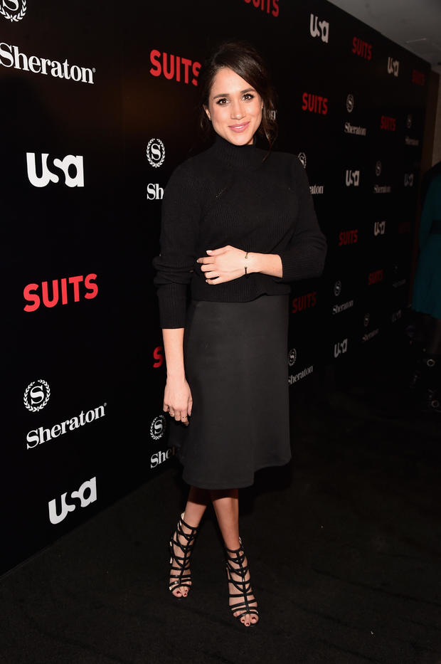 """Premiere Of USA Network's """"Suits"""" Season 5 - Red Carpet"""