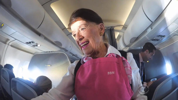 'People Are Exactly the Same,' Flight Attendant Says After 60 Years in the Air