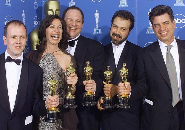 """Winners of the Oscar for Best Picture, """"Shakespear"""