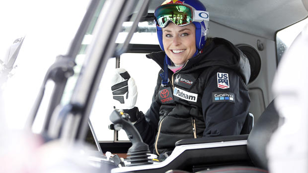 Lindsey Vonn: I won't represent USA  president at Winter Olympics