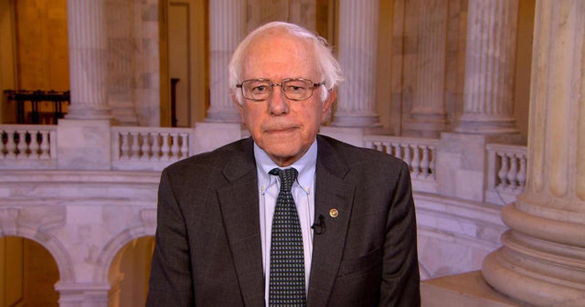 """Bernie Sanders on sexual harassment, """"absurd"""" GOP tax bill ..."""