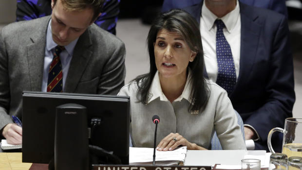 Haley: US Cutting $285 Million off UN Contributions