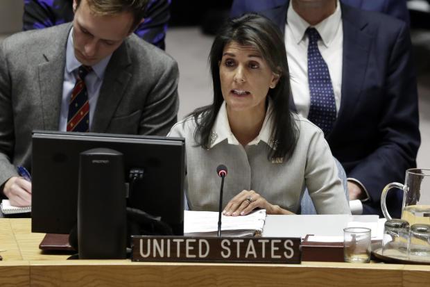 UN Mideast Israel Palestinians
