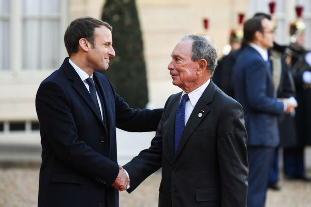 FRANCE-US-ENVIRONMENT-CLIMATE-WARMING-ENERGY-SUMMIT