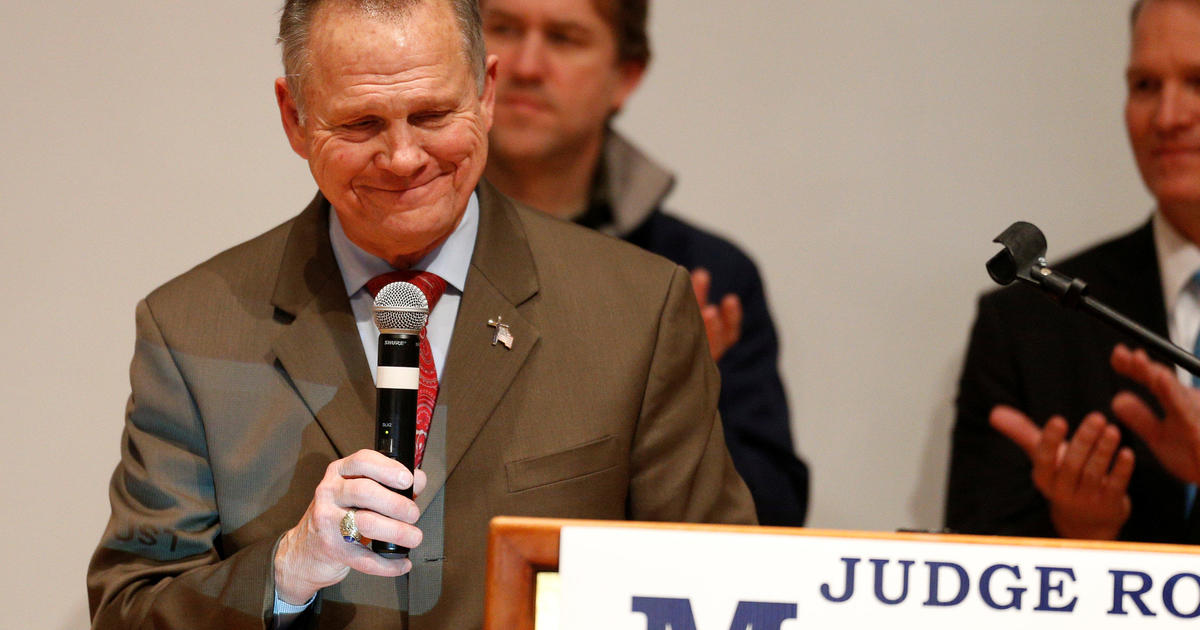 Roy Moore releases 4-minute video refusing to concede