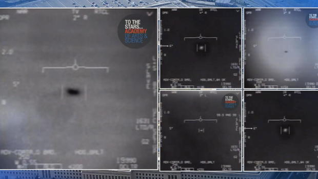 New videos shed light on Pentagon's secretive UFO program - CBS News