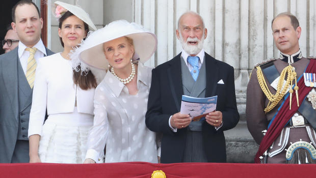 Princess Michael Of Kent Wears 'Racist' Jewellery To Meet Meghan Markle