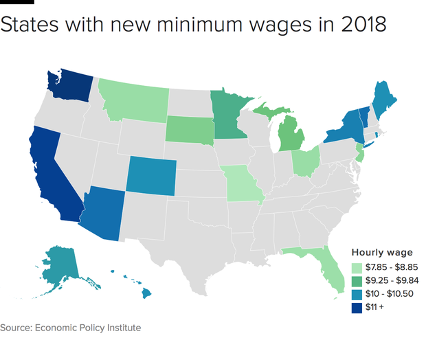 Rhode Island Minimum Wage