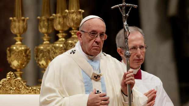 """Hasil gambar untuk Pope Francis laments """"many ways"""" humans """"ruined"""" 2017"""