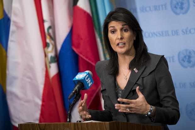 Nikki Haley Hosts 'Friends of the US' Reception for Select UN Envoys