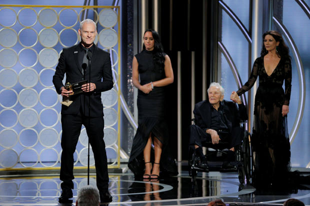 """Martin McDonagh winner Best Screenplay Motion Picture for """"Three Billboards Outside Ebbing, Missouri"""" at the 75th Golden Globe Awards in Beverly Hills"""