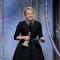 "Elizabeth Moss speaks after winning Best Performance by an Actress in a Television Series Drama ""The Handmaid's Tale"" at the 75th Golden Globe Awards in Beverly Hills"