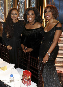 Ava DuVernay,Oprah Winfrey,Gayle King