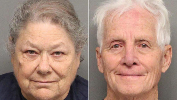 Christmas gift pot couple arrested again