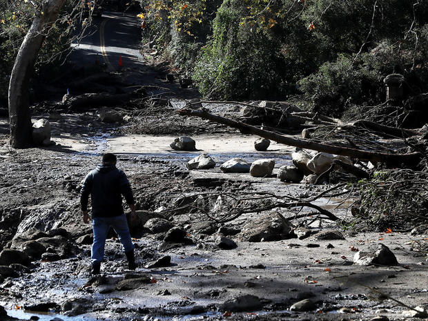 Mudslides Kill Over 10 People In Montecito, Where Wildfire Scorched Hillside