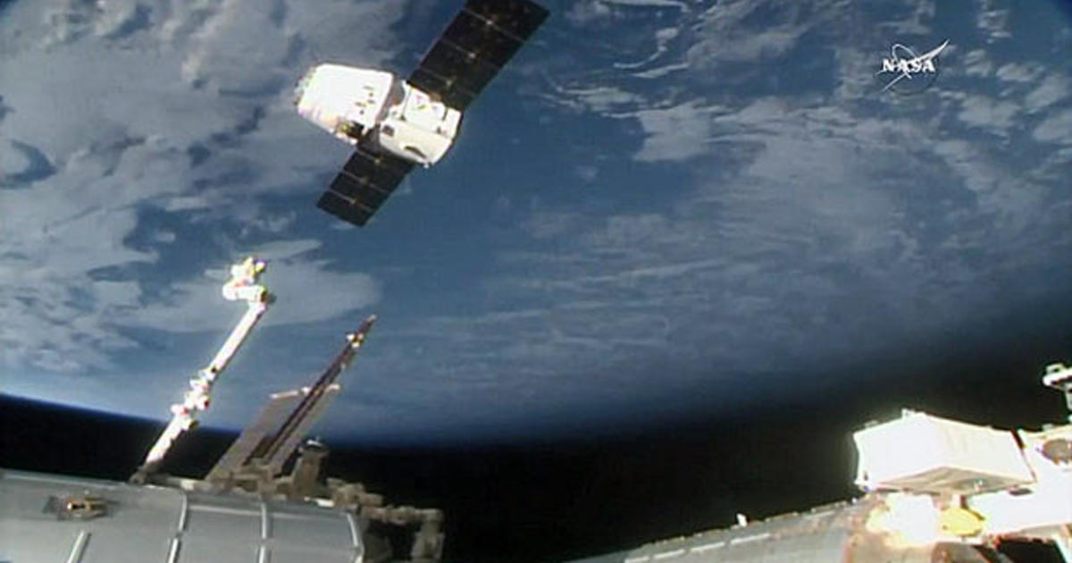 Station cargo ship brings science down to Earth