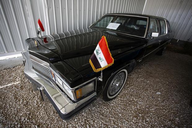 IRAQ-VINTAGE-CARS