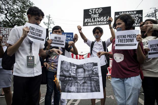 PHILIPPINES-MEDIA-CRIME-RIGHTS