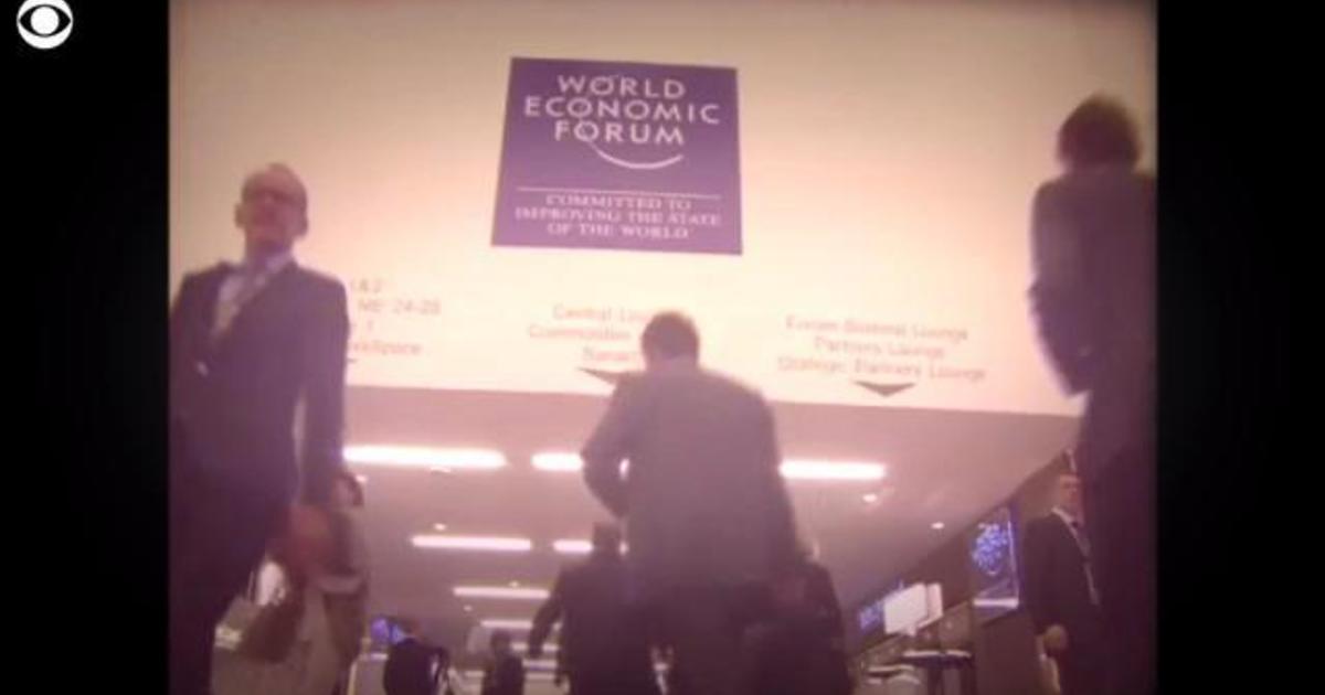 World Economic Forum: Worsening global relations could hurt world's economy, Davos organizers warn - CBS News