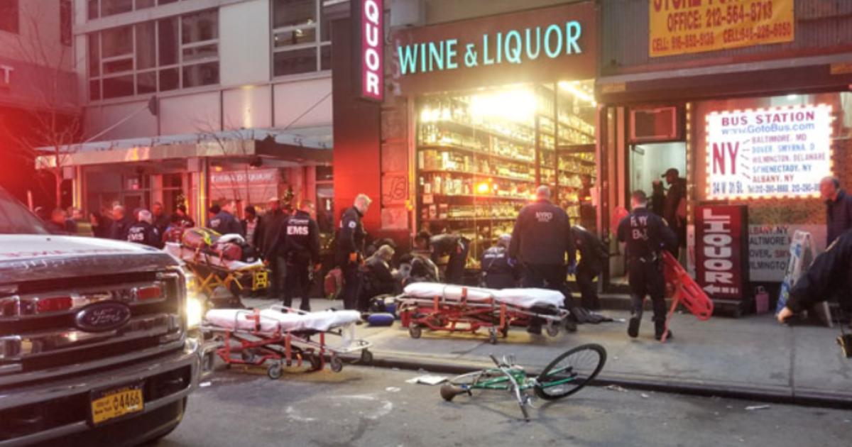 New York City shooting leaves 3 injured
