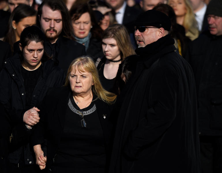 Cranberries singer laid to rest in Ireland