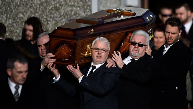 Funeral Service For Dolores O'Riordan Held In Ireland