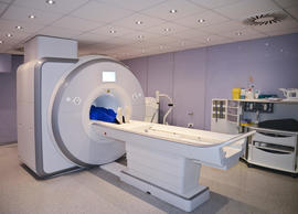 Patient MRI scan