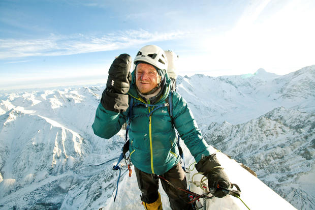 Polish climber Tomasz Mackiewicz during his trip on Nanga Parbat mountain in Pakistan