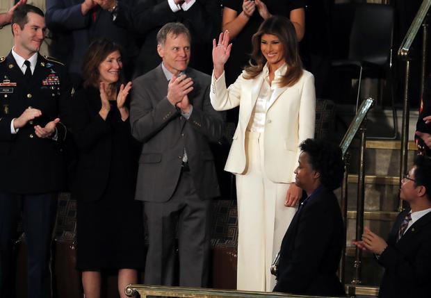 Melania Trump sotu 2018